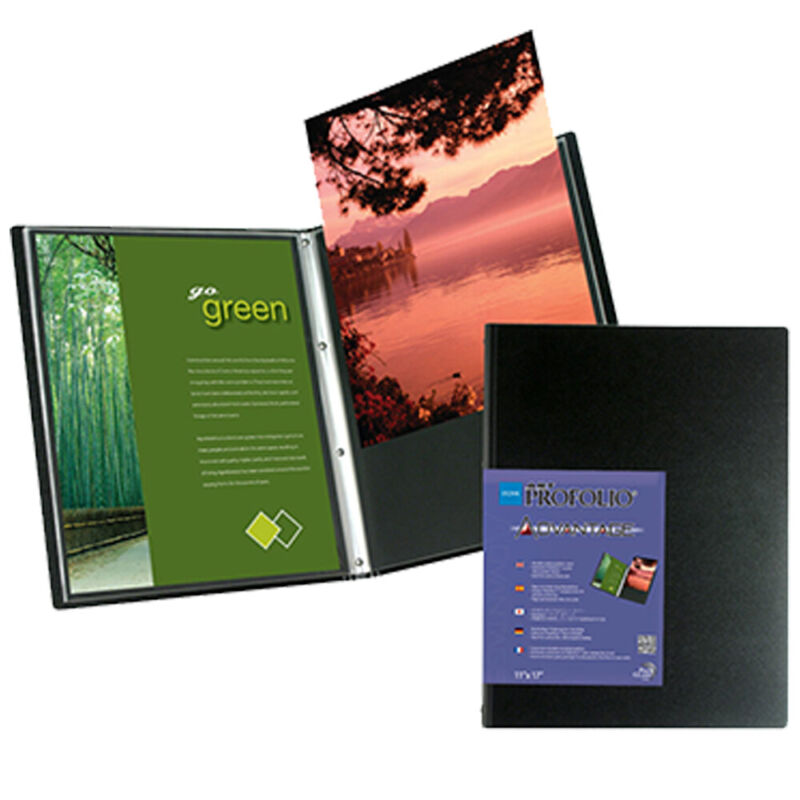 Itoya Art Profolio Advantage 13x19 Inch Presentation Display Book 24 Pages