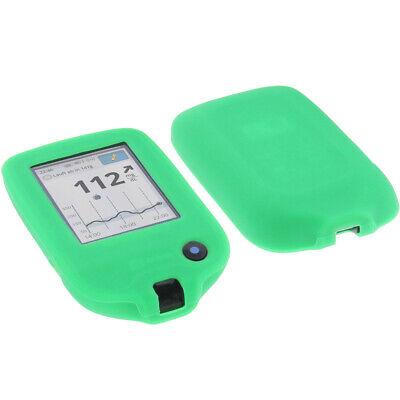 Tasche f. Abbott Freestyle Libre 2 Handytasche Schutz Hülle Silikon Silicon Grün