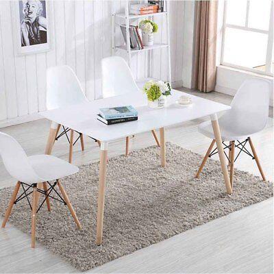 4 stuhle set stuhl kuchen stuhl esszimmer stuhl kernbuche massiv rom g. Black Bedroom Furniture Sets. Home Design Ideas
