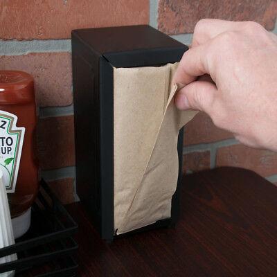 "Choice Kraft Natural Tall-Fold Dispenser Napkin 500 folded napkin is 6.5"" X 3.5"""