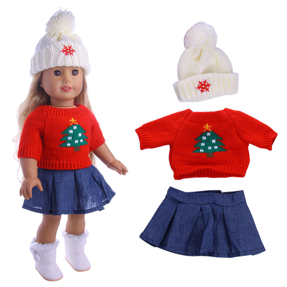 """18"""" Doll Clothes Pajames Dress Panty for American Girl Our Generation My Life"""