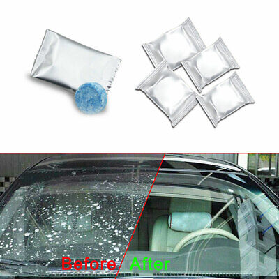 10X Car Auto Windshield Washer Cleaning Solid Effervescent Tablets Accessories ()