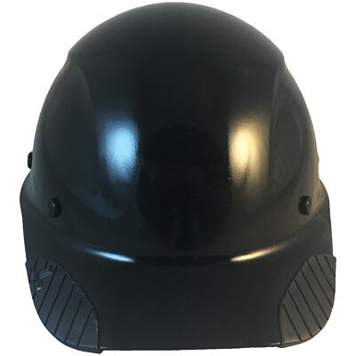Lift Dax Composite Fiberglass Black Cap Style Hard Hat Ratchet Susp