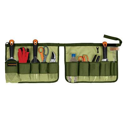 5 Gallon Bucket Tool Pouch Canvas Organizer Bag Multi-Pocket Storage Holder 5 Gallon Bucket Organizer