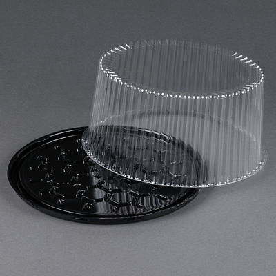 5 sets Disposable Cake Tray, Carrier, Server Display Container Plastic  10