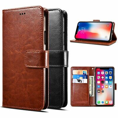 Leather Wallet Case For iPhone X XS Max Card Slot Flip Cover Case For iPhone XR Cases, Covers & Skins