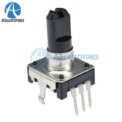 5pcs Rotary Encoder Ec12 Audio Digital Potentiometer 5mm Handle