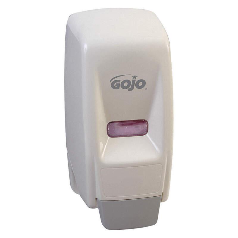 Soap Dispenser,800mL,Ceramic White 9034-12