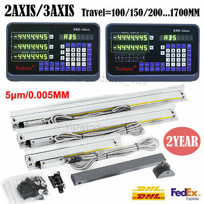 3axis2axis Digital Readout Dro Display Linear Scale Encoder For Mill Lathe Cnc