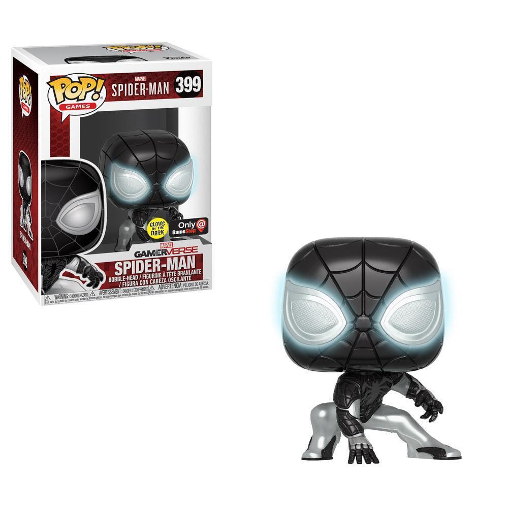 Funko Pop Games Marvel Gamerverse Spider-man Gamestop GITD