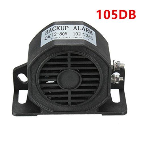 Black Car SUV Reversing Horn Speaker Backup Alarm Beeper Buzzer 105DB Waterproof