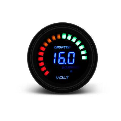 2'' 52mm Car Truck Voltmeter Digital Analog LED Voltage Gauge Volt Meter 12V