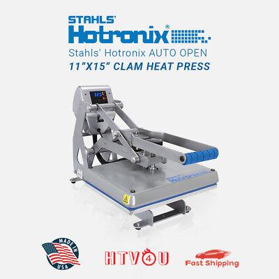 Stahls Hotronix Auto Open Clam Heat Press Stx11-120 11 X 15