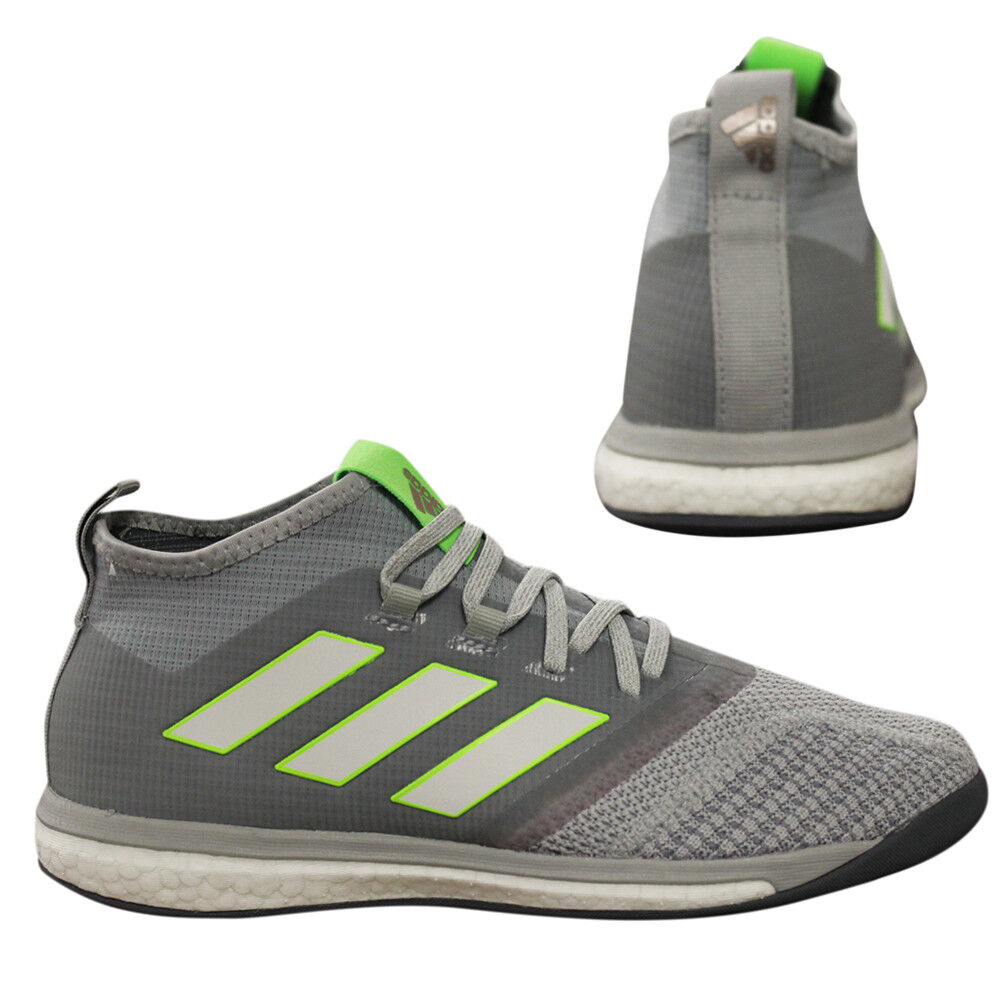 best service 91d28 f0586 Details about Adidas Ace Tango 17.1 Football Trainers Lace Up Mens Shoes  Grey BB4744 B2D