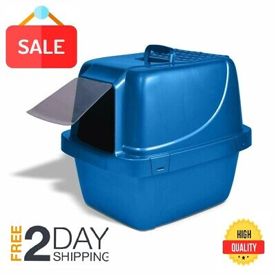 Cat Litter Box Self Cleaning Automatic Roll N Clean Removable Tray Waste Roll Litter Box