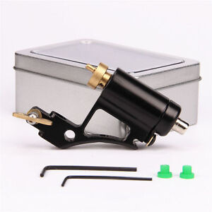New Aluminium Alloy CNC Rotary Tattoo Machine Motor Gun Shader Liner Black UK