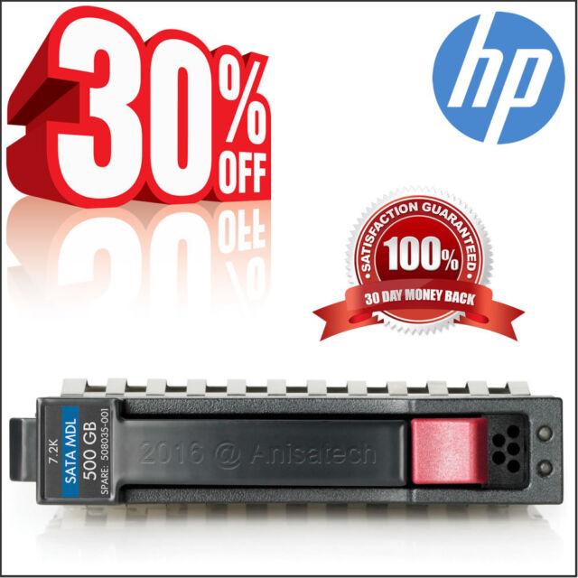 """HP 507750-b21 508035-001 507749-001 500GB 7.2K SATA 2.5"""" Hard Drive  100% TESTED"""