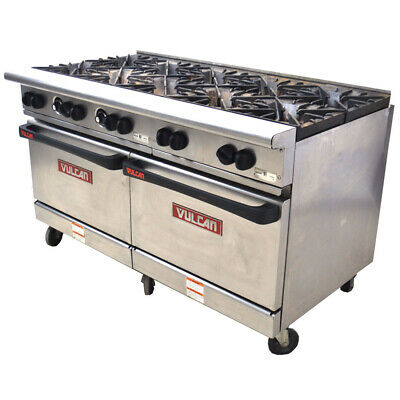 Vulcan G60ss-1db Endurance 60 10-burner 2-oven Natural Gas Restaurant Range