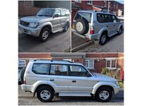 CHEAP BARGAIN MUST GO TOYOTA LANCDRUISER VX HIGH SPEC 2002 3L DIESEL OWNER FROM NEW NOT BMW,VW,CORSA