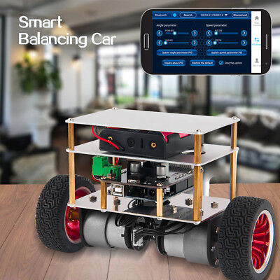 Osoyoo Rc Two Wheel Self Balancing Smart Robot Car Kit Uno R3 For Arduino Diy