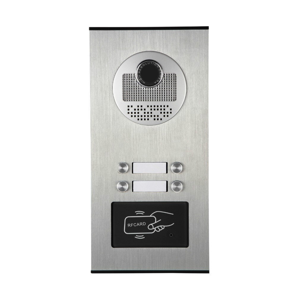 Apartment Video Door Phone Intercom System 4 Buttons (Only for our monitor.)