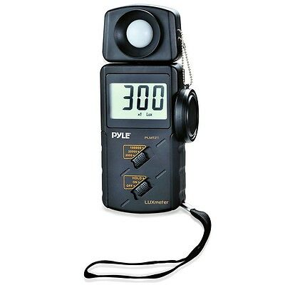 New Pyle Plmt21 Lux Light Meter 20000 Lux Range W 2x Per Second Sampling