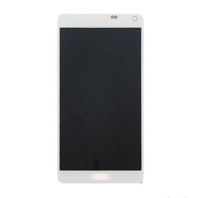For Samsung Galaxy Note 4 White N910a N910 N910f N910v Lcd Digitizer Light Sbi