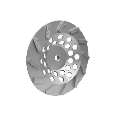 7turbo Cup Wheel Grinding Grinder Concrete Masonry 58-11- 12 Segments Wetdry