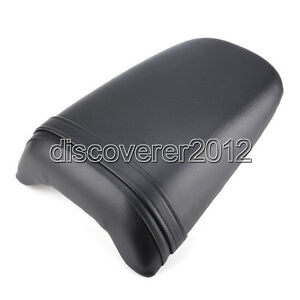 Passenger Rear Seat Pillion Cushion For Honda CBR954RR 2002-2003 Black