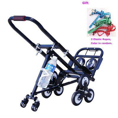 Stair Climbing Cart Portable Folding Hand Truck 420lbs Capacity Handcart