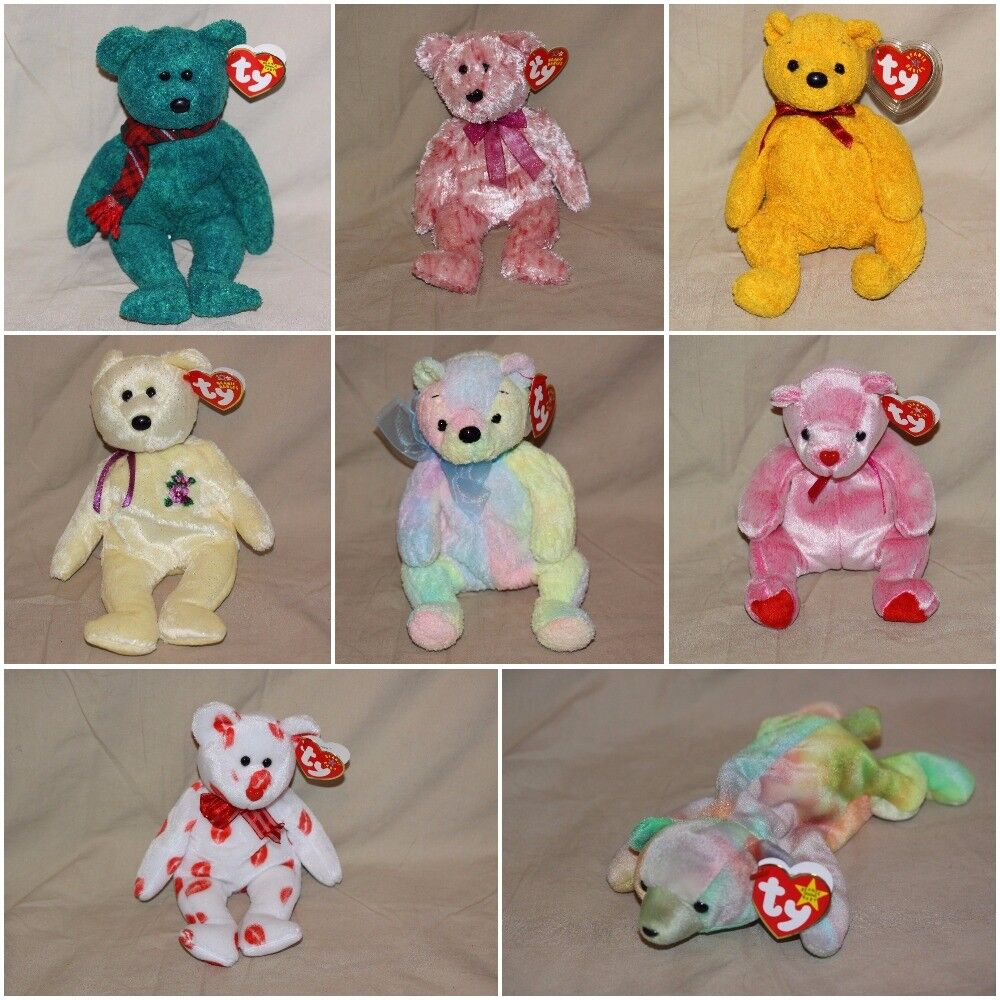 """TY Beanie Babies /""""2003 SIGNATURE BEAR/"""" Teddy Bear MWMTs A MUST HAVE RETIRED!"""