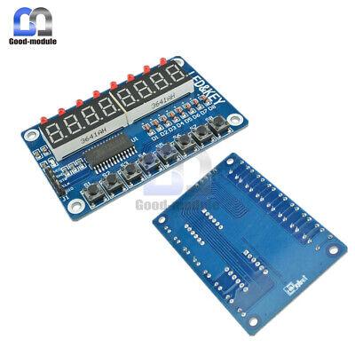 8-bit Led 8-bit Digital Tube 8 Keys Tm1638 Display Module For Avr Arduino Arm Gm
