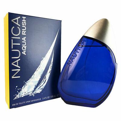 Nautica Aqua Rush For Men 3.4 oz Eau De Toilette Spray