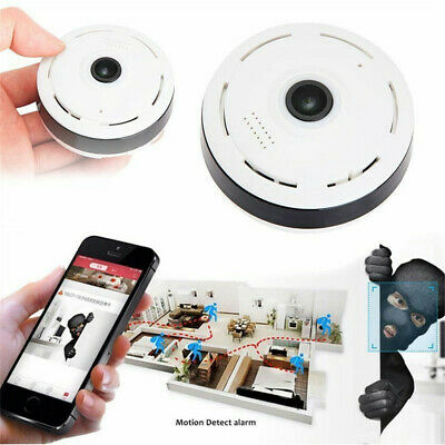 360° Wireless WiFi IP Camera Panoramic Home Security Camera Ceiling Camera