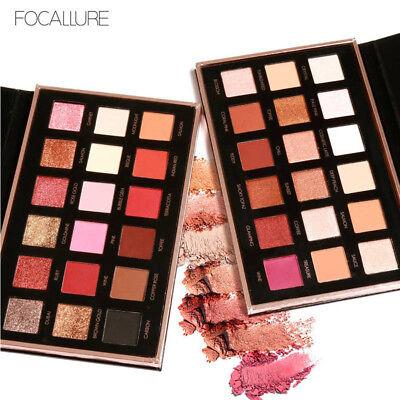 Focallure 18 Colors Pearlized Color Eyeshadow Powder Eye Shadow Palette Set Us