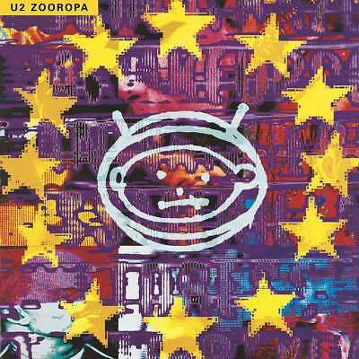 U2 ZOOROPA 2 X 180 GRAM VINYL LP ALBUM (Released 27/07/2018)