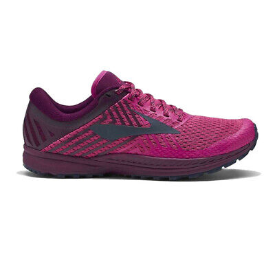 Brooks Womens Mazama 2 Trail Running Shoes Trainers Sneakers Pink Sports