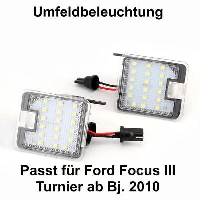 Qualität ! 2x LED UMFELDBELEUCHTUNG AUSSENSPIEGEL SPIEGEL FORD MONDEO 5 MK5 V