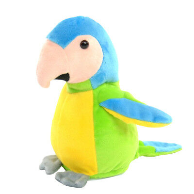 Labertier Sprechender Papagei Samira grün Vogel Laber parrot plappert nach Neu