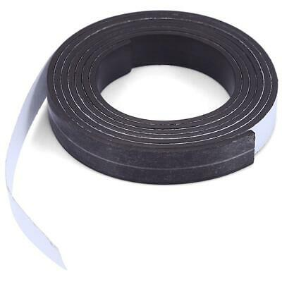 Strong Magnetic Tape Strip Magnetics Rubber Self Adhesive 10mmx1.5mmx1m Durable