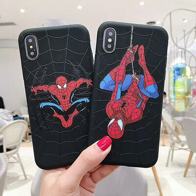 Cool Spiderman Case for iPhone 11 11 Pro Max XR 8 7 Shockproof TPU Protect Cover