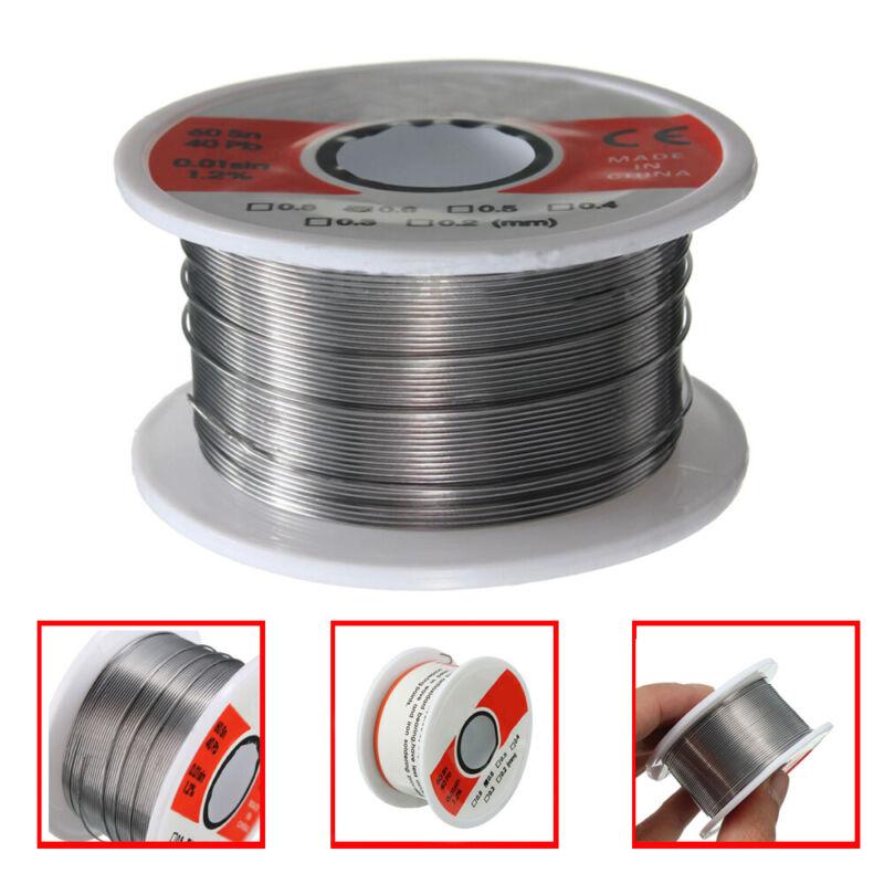 New Fine Solder Wire 0.6mm 60/40 2% Flux Reel Tube Tin lead Rosin Core Soldering