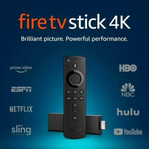 BRAND NEW Amazon Fire Tv Stick 4K UHD w/Alexa Voice Remote Latest Version 2019