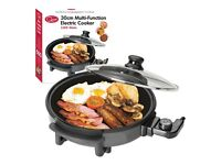 Brand new in box Multi Function Electric Cooker 1500 watts