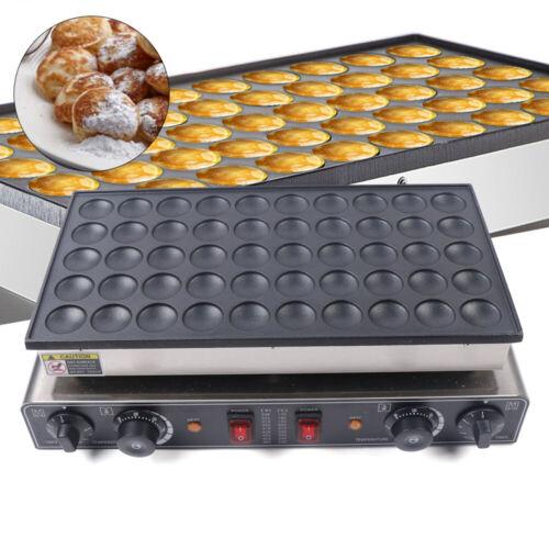50pcs Electric Mini Dutch Pancake Baker Maker Iron Machine N