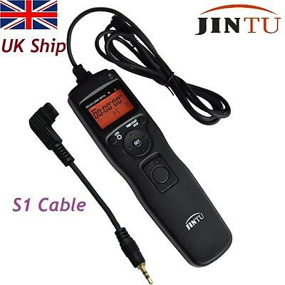 Jintu Timer Remote shutter Release S1 for SONY A100 A200 A300 A350 A77 A55 A500
