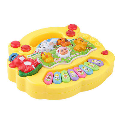 Купить Unbranded - Baby Kids Musical Educational Animal Farm Piano Developmental Music Toy Gift US