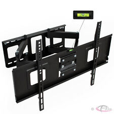 """Support TV mural orientable et inclinable LCD Plasma LED 3D """"32-65"""" 81-165cm"""