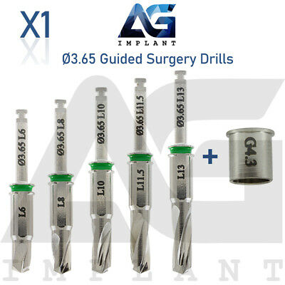 3.65 Guided Surgery Straight Drill External Irrigation Tool Dental Implant