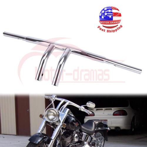 "Fits Harley Sportster XL Dyna Custom 8/"" Rise T-barres de 1-1//4/"" Guidon Chrome"